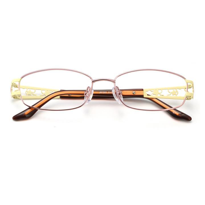 HAN纯钛时尚光学眼镜架-高雅粉(J81355-C7)