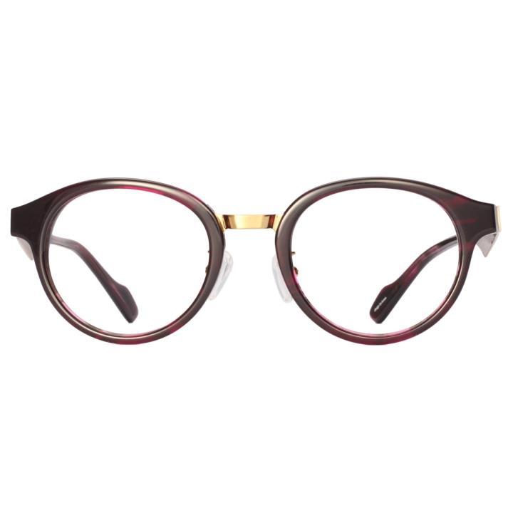 KD设计师手制板材金属眼镜kc7001-C08