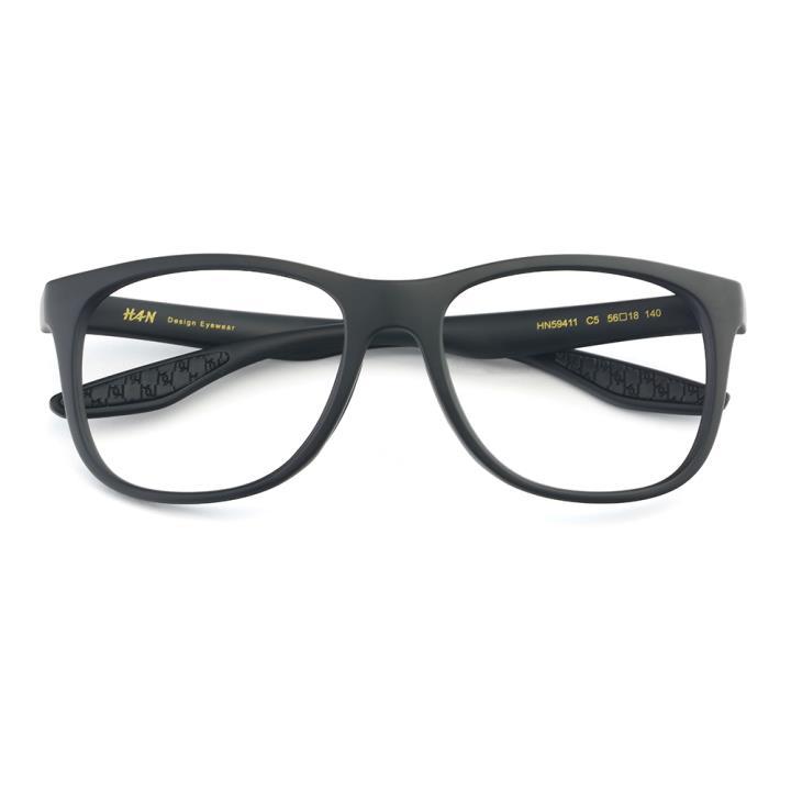 HAN TR太阳眼镜架-黑框(HN59411-C5)