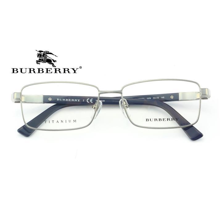 BURBERRY钛合金框架眼镜0BE1293TD 1078 55