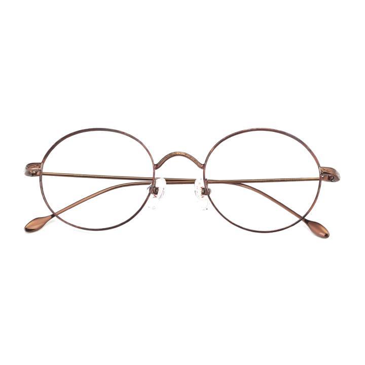 HAN合金光学眼镜架-玳瑁咖啡(HN49361-C04)