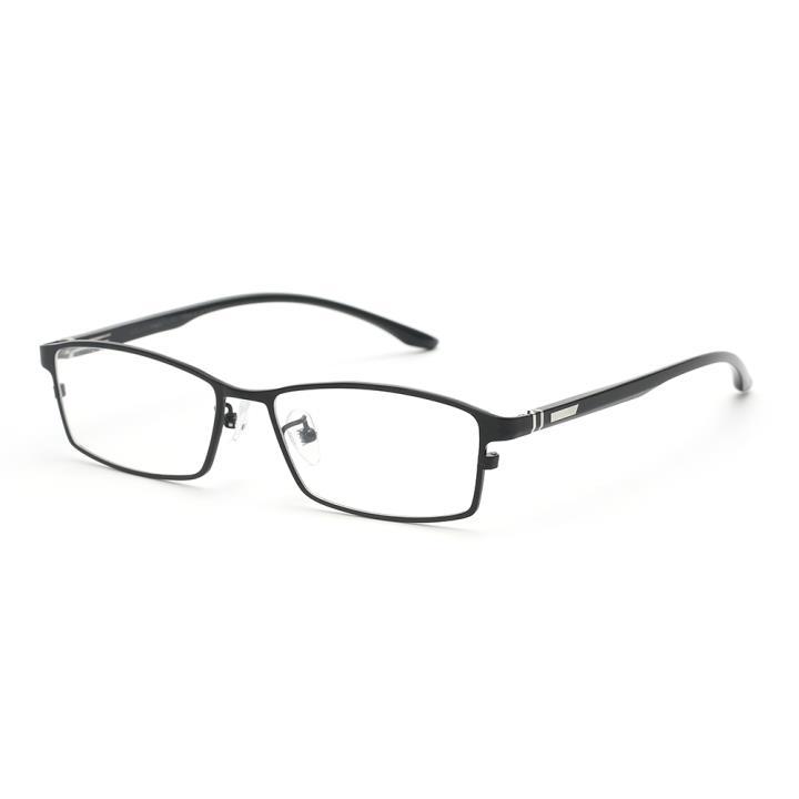 HAN TITANIUM纯钛光学眼镜架HN41037M C1 亮黑