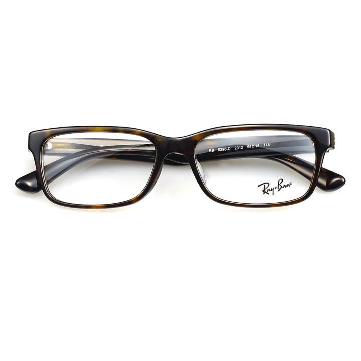 RAY BAN雷朋板材眼镜架-玳瑁(0RX5296D-2012-55)