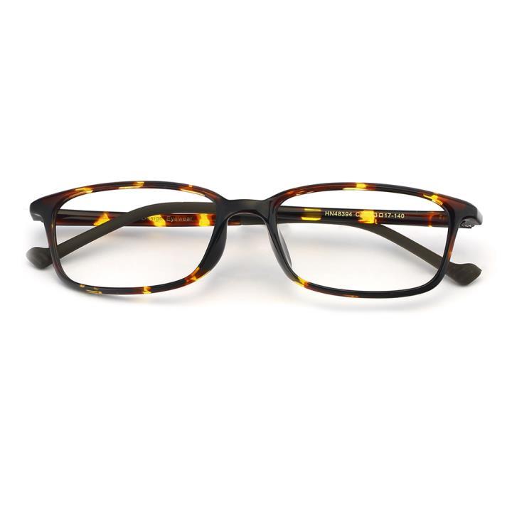 HAN MEGA-TR钛塑光学眼镜架-玳瑁(HN48394-C02)