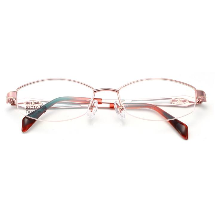 HAN时尚光学眼镜架J81360-C7粉色