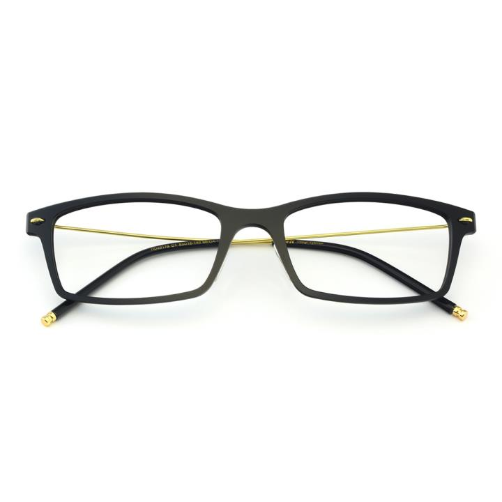 HAN尼龙时尚光学镜架-亮黑(HD49178-C1)