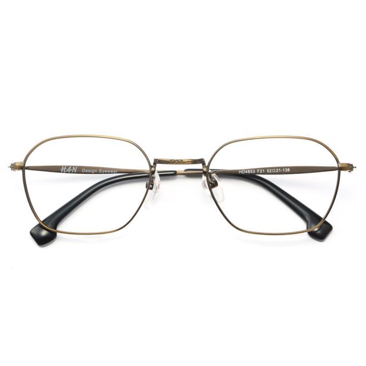 HAN时尚光学眼镜架HD4853-F21 哑咖色