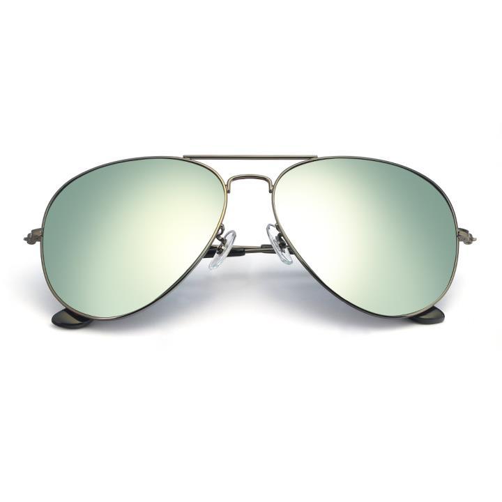 HAN RAZR-X9不锈钢防UV太阳眼镜-枪框银色片(HN52016L-C2)