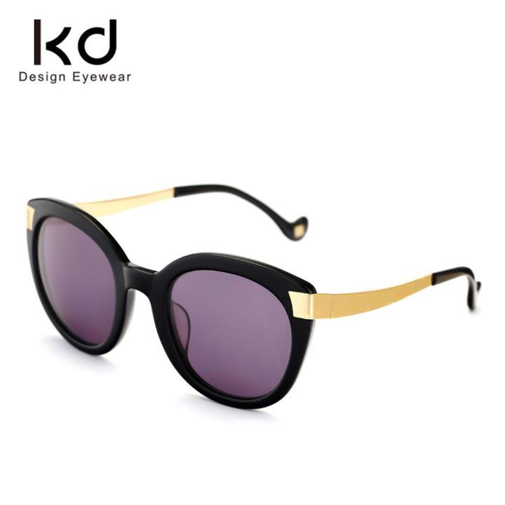 KD时尚太阳镜KD1424-S01  光黑
