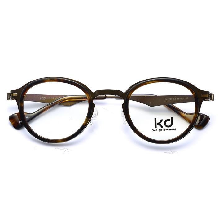 KD设计师金属眼镜kc7011-C04