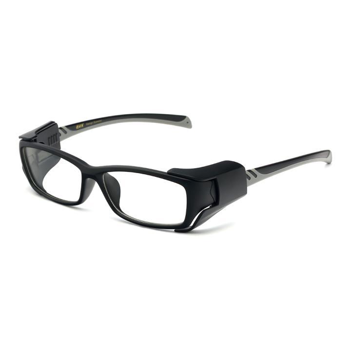 HAN MEGA-TR钛塑运动防风镜-哑黑灰(HN49326-C2)