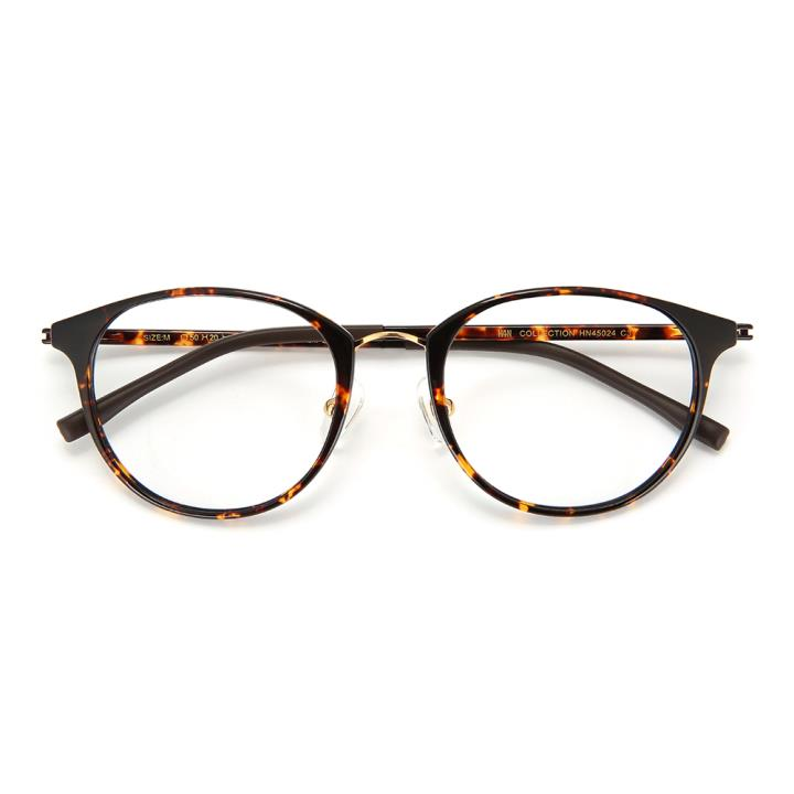 HAN COLLECTION光学眼镜架HN45024 C3 亮玳瑁