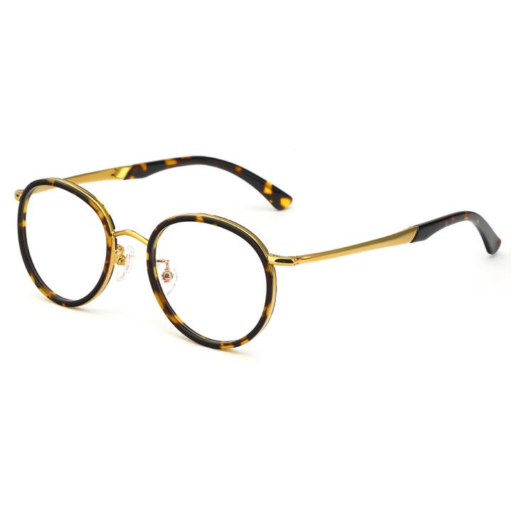 HAN板材光學眼鏡架-玳瑁色(HD49216-F03)