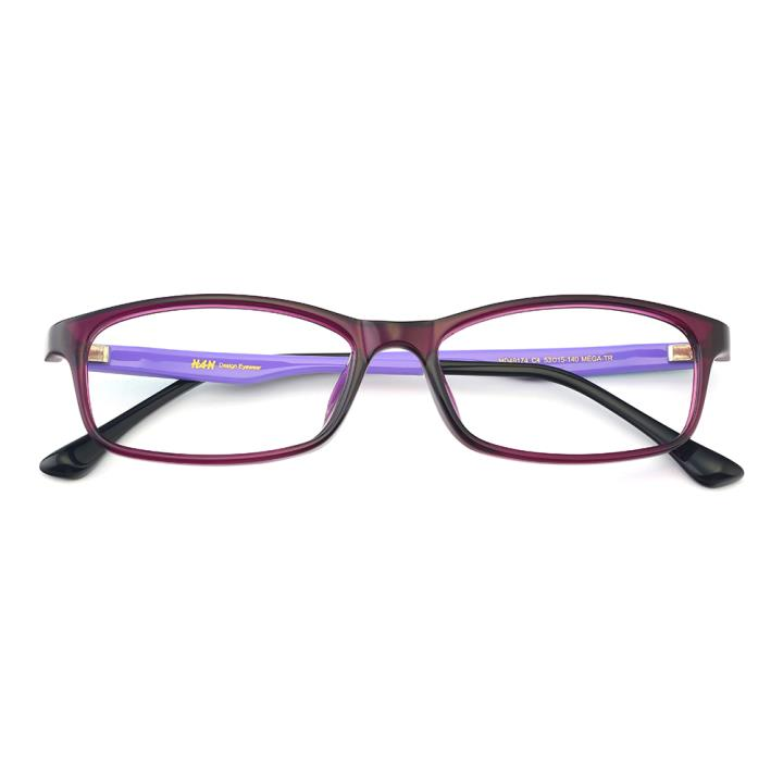 HAN MEGA-TR钛塑光学镜架-紫彩纹(HD49174-C4)