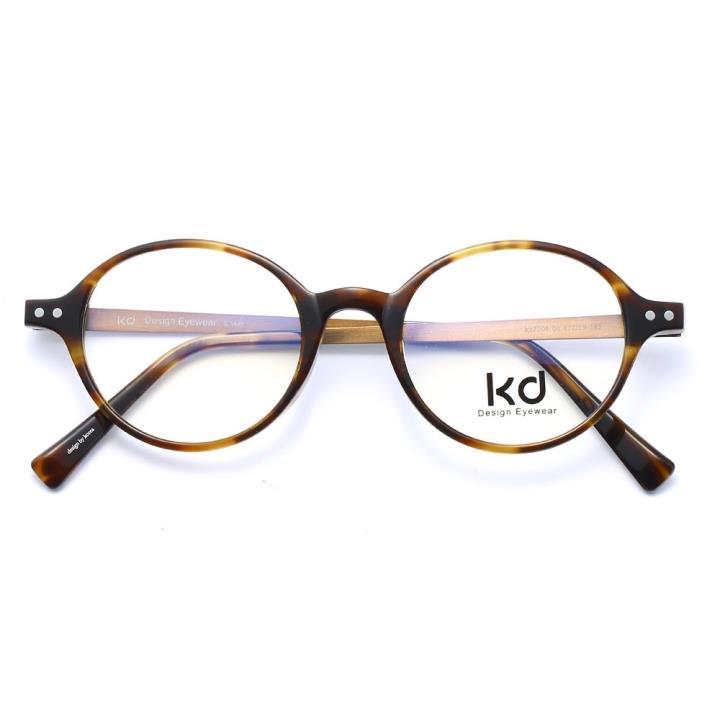 KD设计师手制板材金属眼镜kc7004-C04