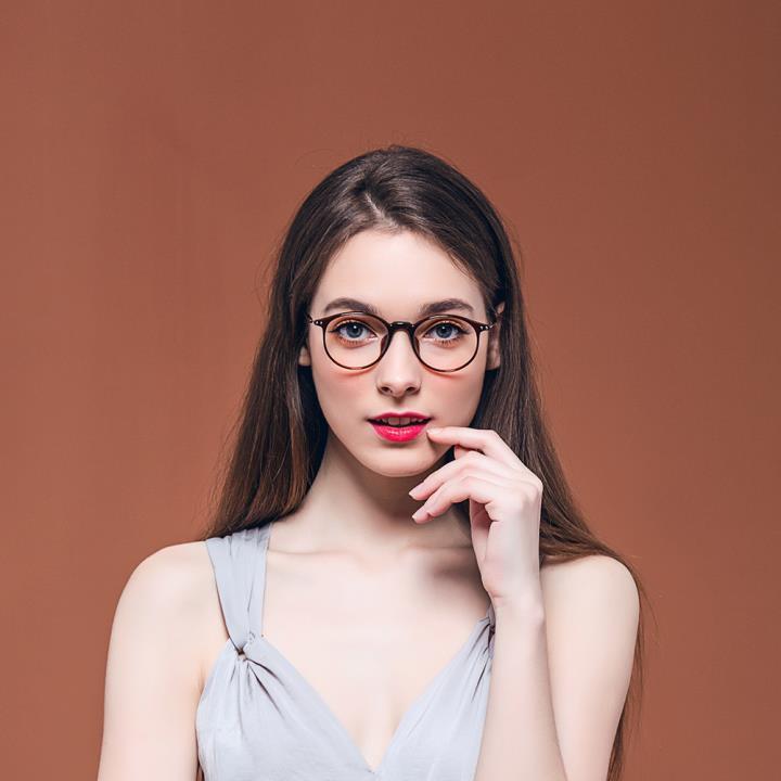 HAN COLLECTION MEGA-TR钛塑光学眼镜架-复古玳瑁(HN41002 C02/M)