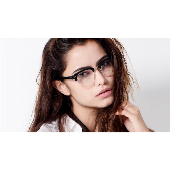 HAN时尚光学眼镜架HD4959-F03 板材浅玳瑁 小号
