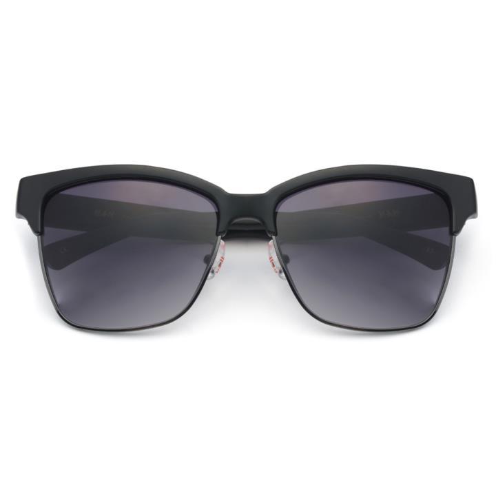 HAN PC合金防紫外线太阳镜-黑框渐进灰(HD59105-S02)