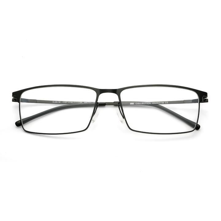 HAN COLLECTION光学眼镜架HN49221M C5 哑黑