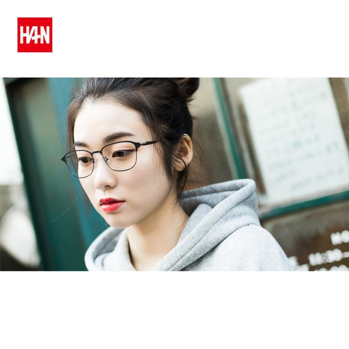HAN COLLECTION光学眼镜架HN42106M C1 黑框
