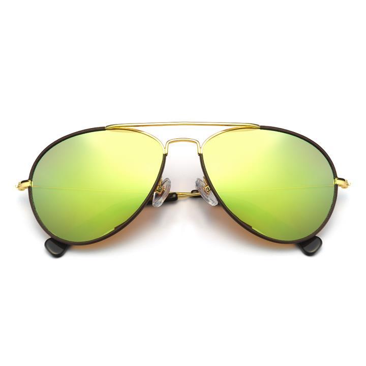 HAN不锈钢偏光太阳镜-金框金色片(HD59329-C3 )