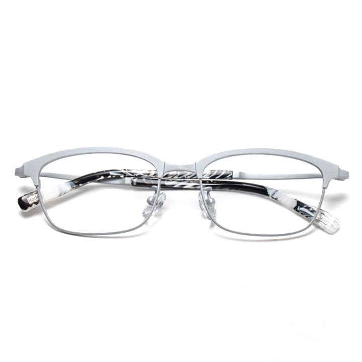 Kede時尚光學眼鏡架Ke1414-F09  銀色