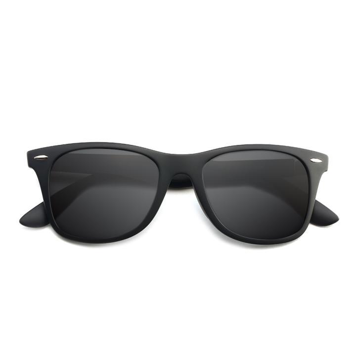 HAN时尚偏光太阳镜HD5818-S01 黑框黑灰片