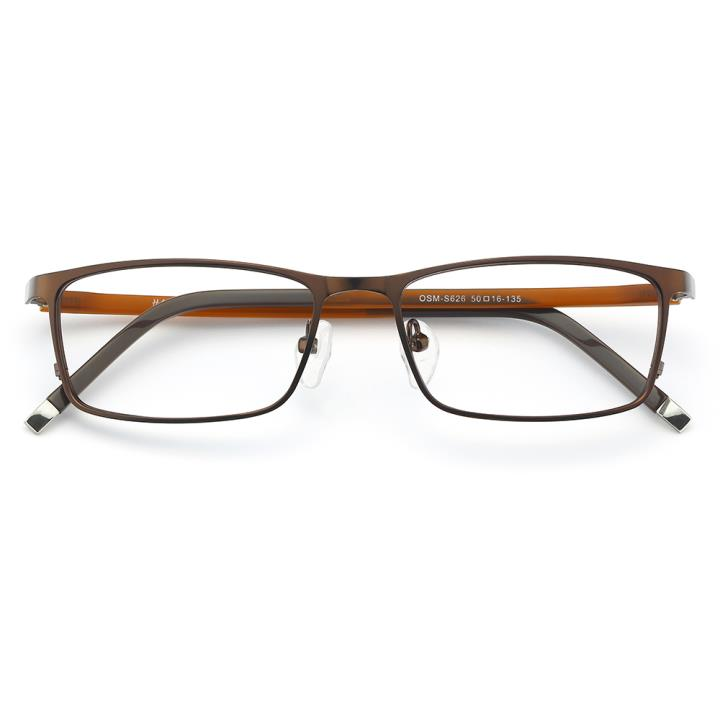 HAN 金属光学眼镜架-咖啡色(626-F21)