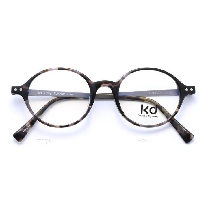 KD设计师手制板材金属眼镜kc7004-C03