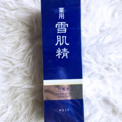 日本高丝雪肌精美白淡斑祛黄保湿补水/清爽爽肤化妆水500ml(海淘专享)