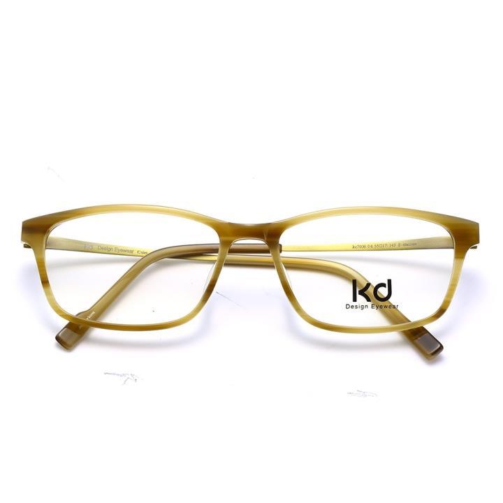 KD设计师手制板材金属眼镜架kc7006-C04