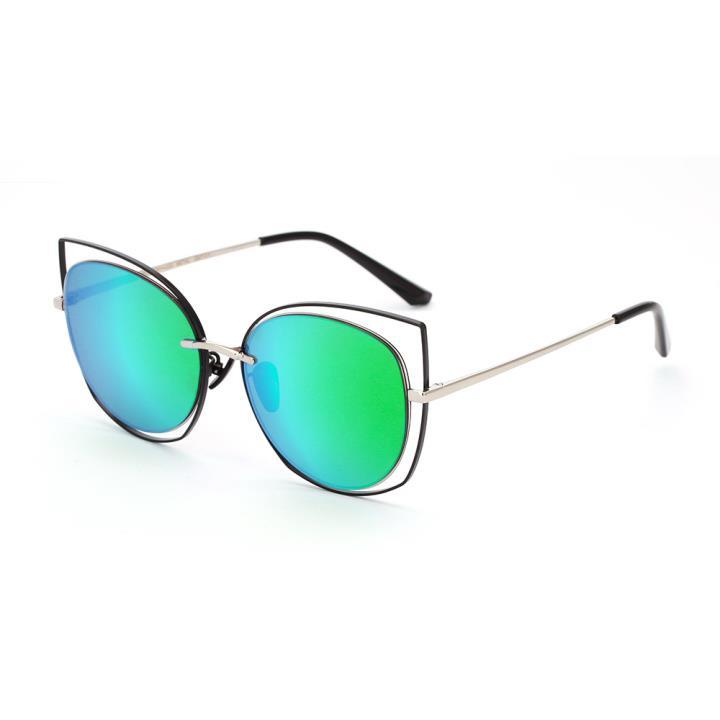 HAN SUNGLASSES防UV太阳眼镜HN52039M C4 银框绿色片