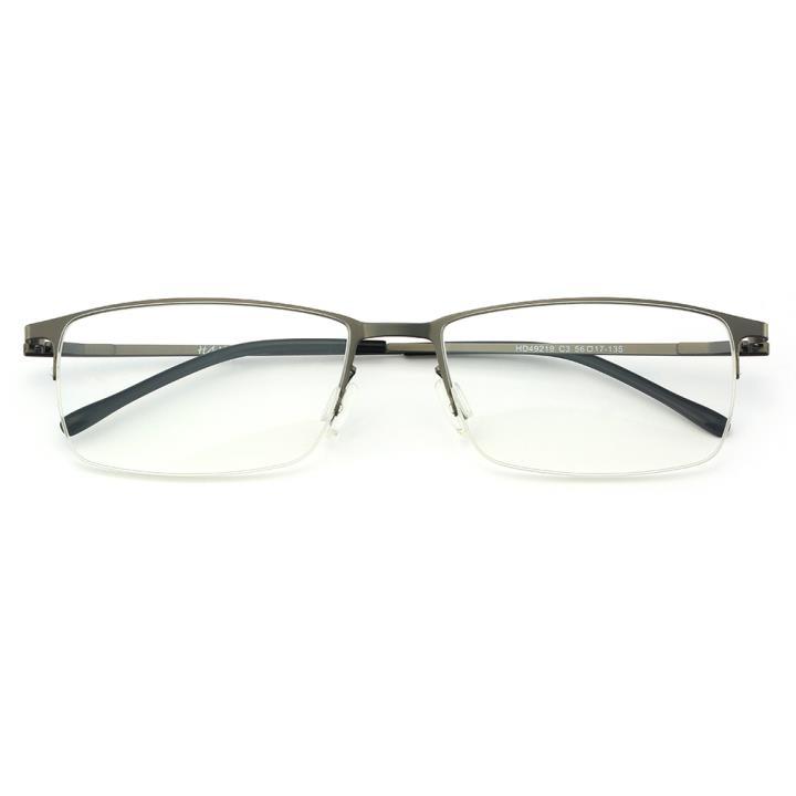 HAN不锈钢光学眼镜架-枪灰色(HD49219-C3)