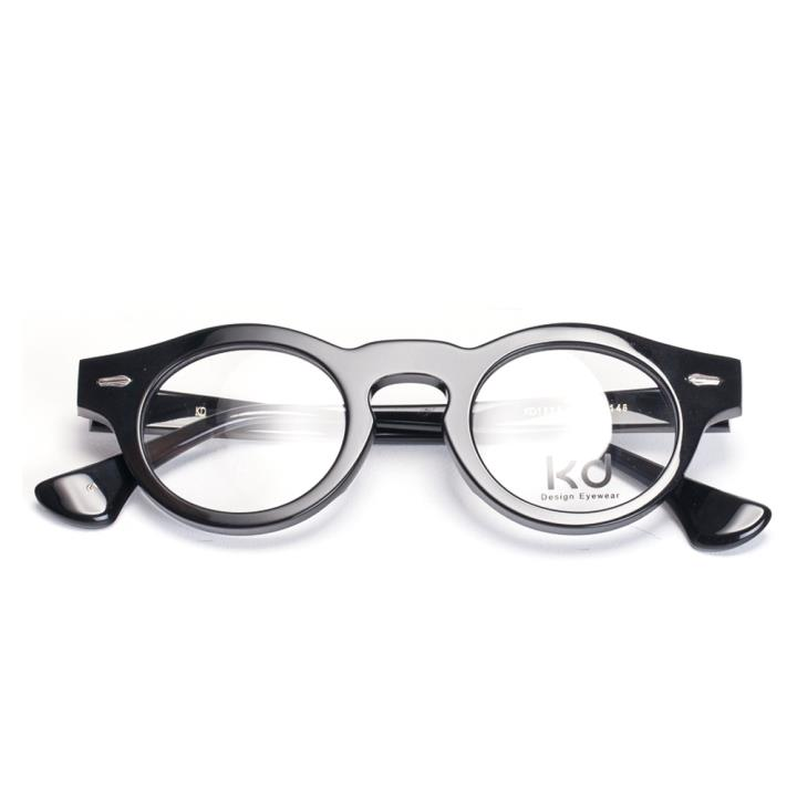 KD时尚光学眼镜架KD1525-C1  黑色
