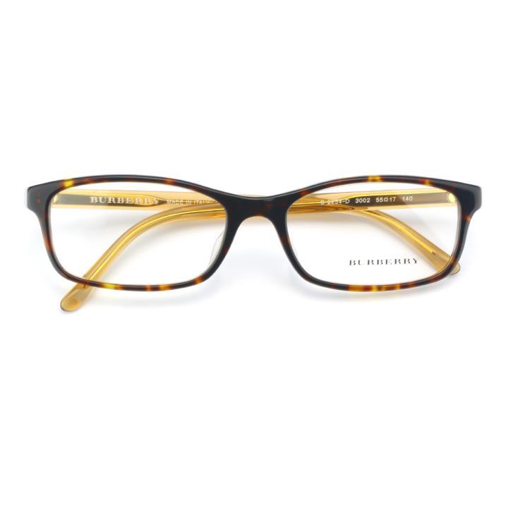 BURBERRY框架眼镜0BE2234D 3002 55 玳瑁色