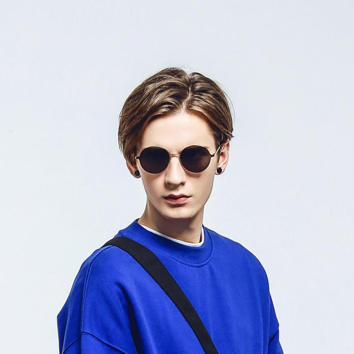 HAN RAZR-X9不锈钢防UV太阳眼镜-黑框银色片(HD59206-S01)
