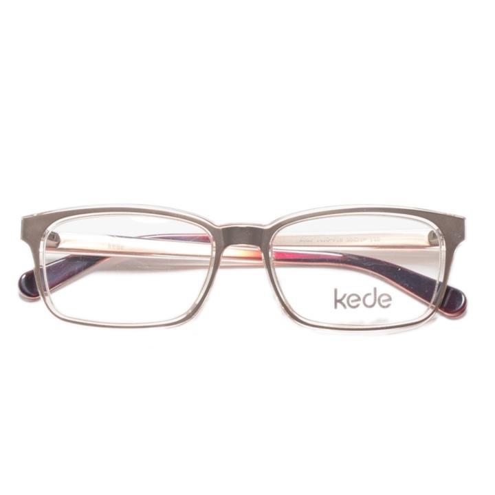 Kede时尚光学眼镜架Ke1410-F18  金色