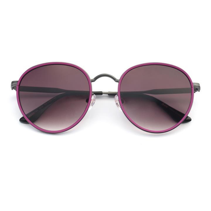 HAN 合金防紫外线太阳镜-紫框渐进紫(HD59106-S08)男女通用