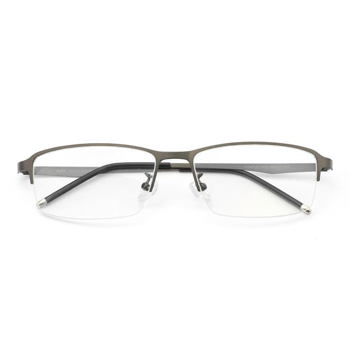 HAN不锈钢近视眼镜架-低调枪灰(HD49321-F12)