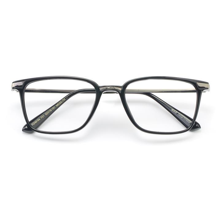 HAN MEGA-TR钛塑光学眼镜架-亮黑色(HD49164-C1 )