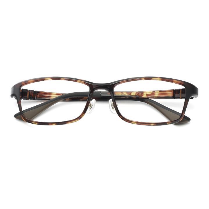HAN 塑钢时尚光学眼镜架-复古玳瑁(HN49403-C2)