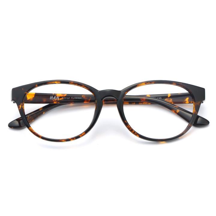 HAN MEGA-TR钛塑光学眼镜架-质感玳瑁(HD49324-F03)