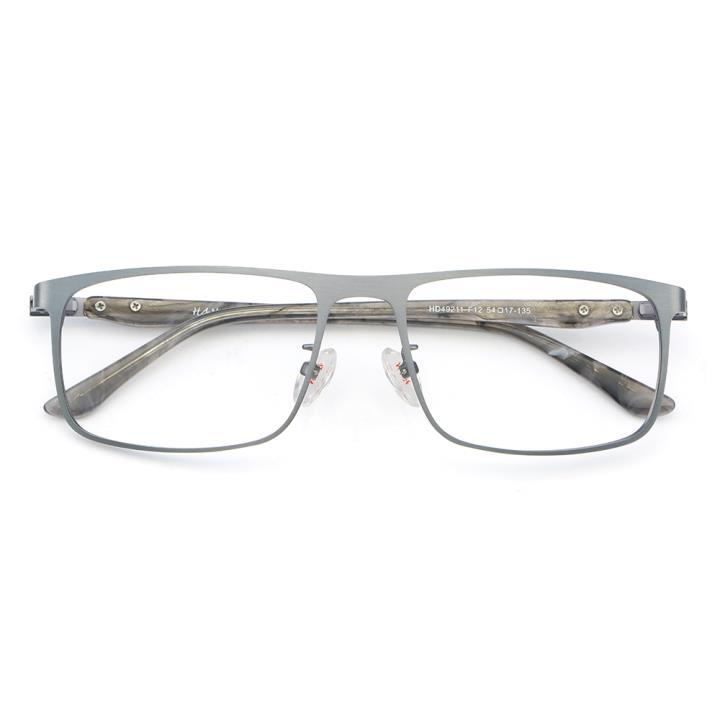HAN 不锈钢板材光学眼镜架-低调哑枪(HD49211-F12)