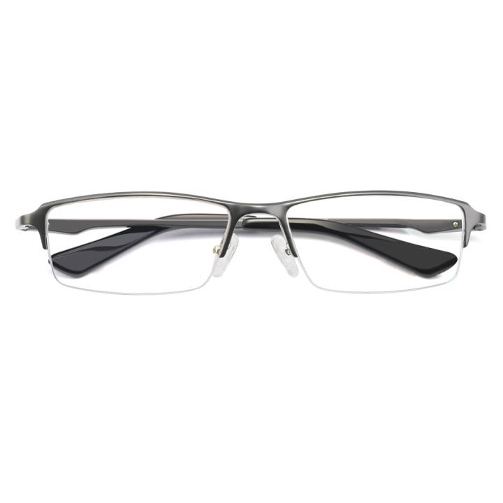 HAN铝镁合金光学眼镜架-爵士枪灰(HD4938-F12)