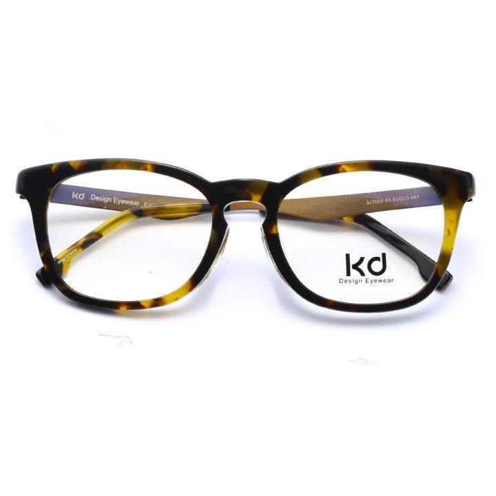 KD设计师手制板材金属眼镜kc7005-C03