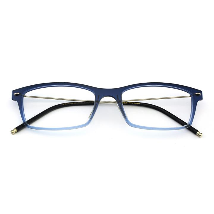 HAN尼龙时尚光学镜架-渐进蓝(HD49178-C2)
