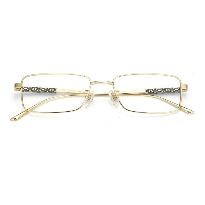 HAN纯钛光学眼镜架-亮金色(B8005-C5)
