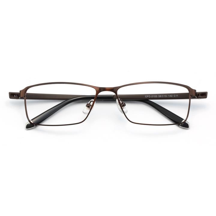 HAN时尚光学眼镜架HD4937-F04 深咖色