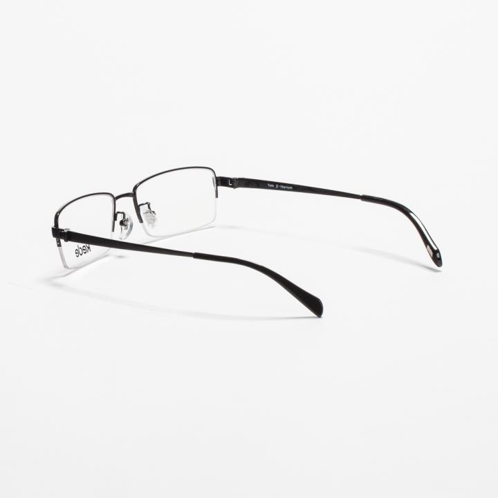 Kede时尚光学眼镜架Ke1419-F01  亮黑