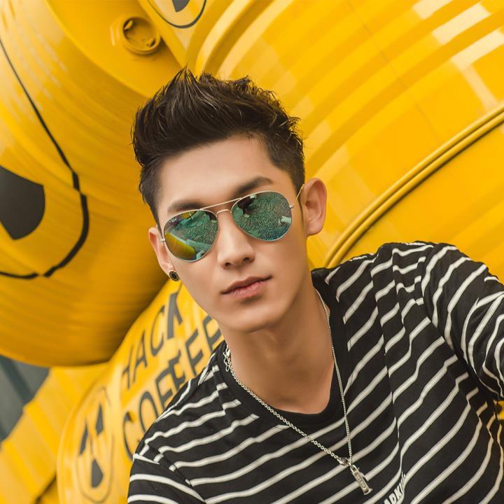 HAN时尚偏光太阳镜HD59312-S15清新蓝绿